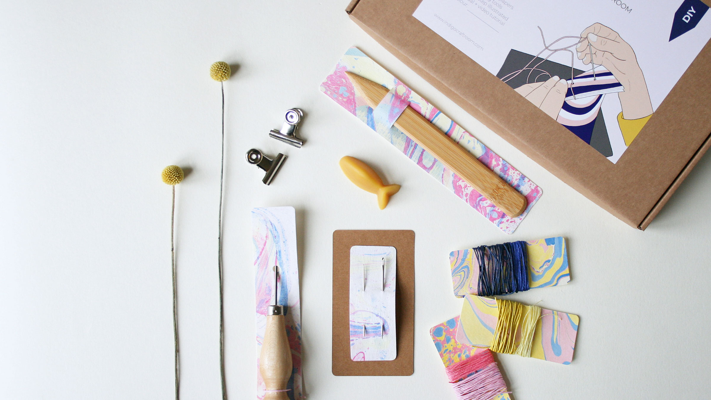 DIY Bookbinding Kit – Japanese Book