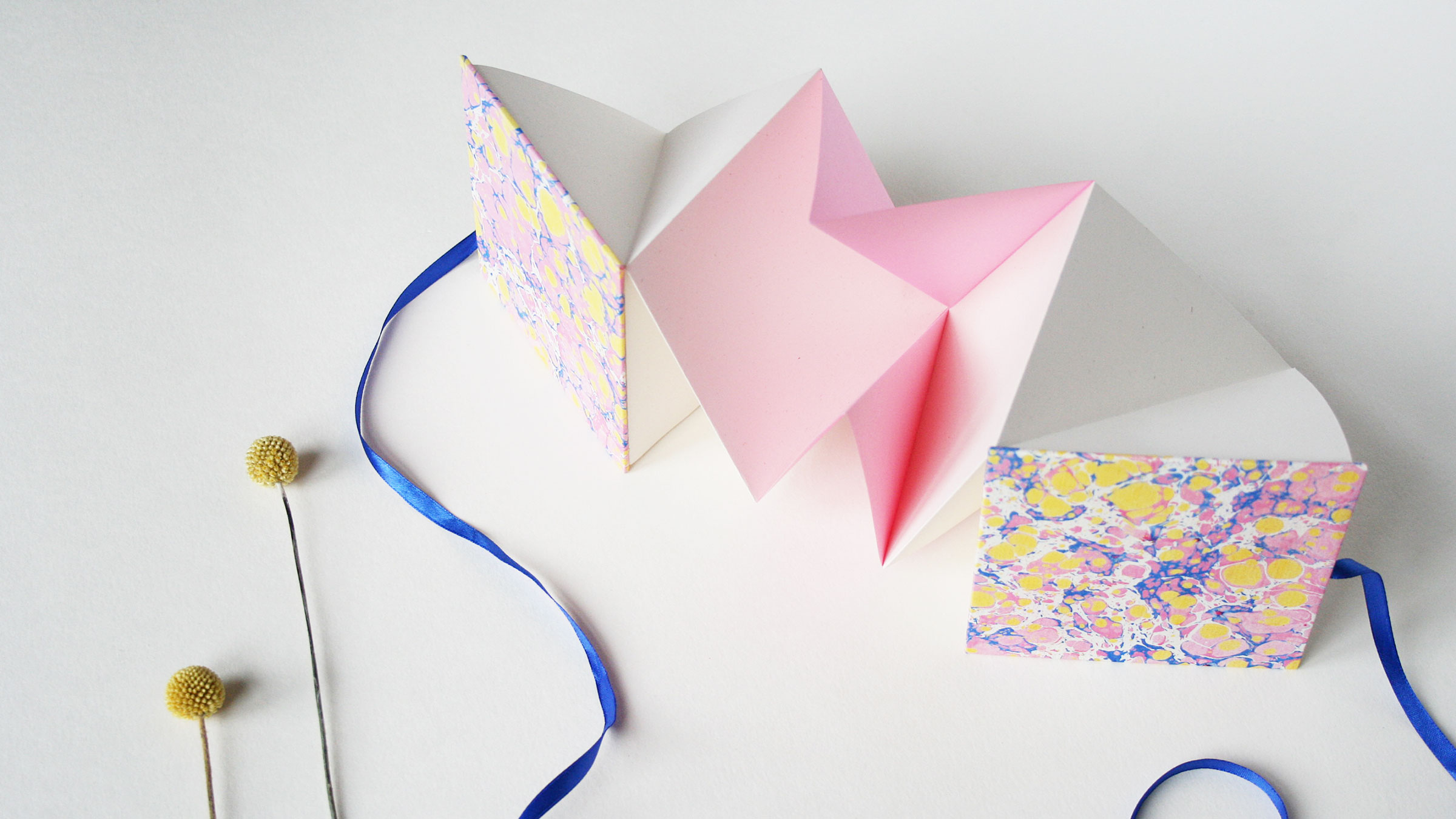 DIY Bookbinding Kit – Origami Pop up Books