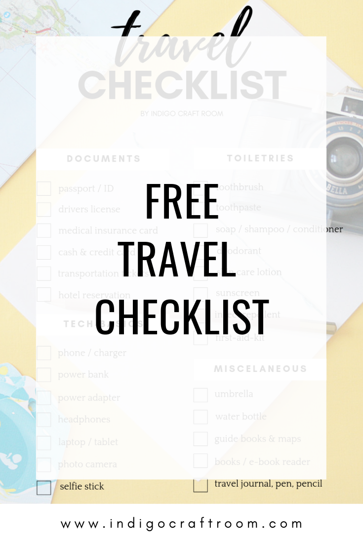 free-travel checklist-indigo-craftroom